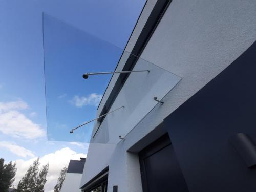 10 mm skaidrus stogelis